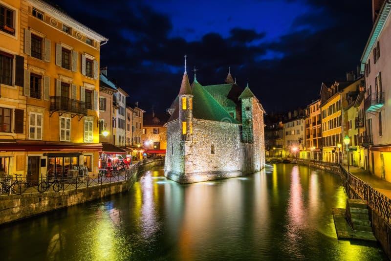 Vieille ville d'Annecy, Savoie, France images stock