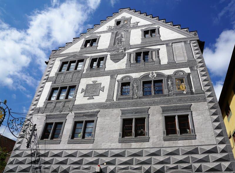Vieille ville d'Engen en Allemagne images libres de droits