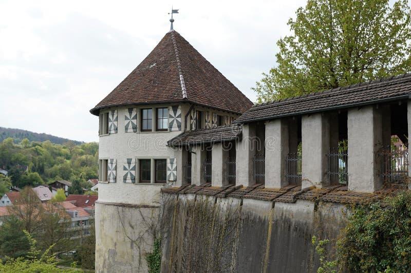 Vieille ville d'Engen en Allemagne image stock
