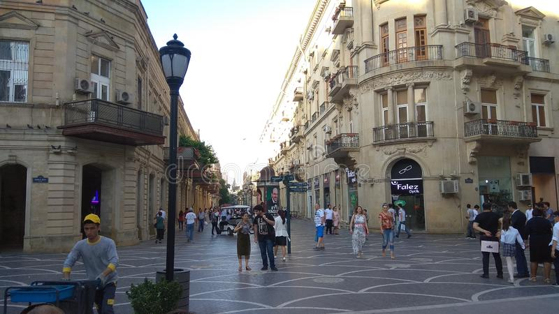 Vieille ville de Bakou photographie stock