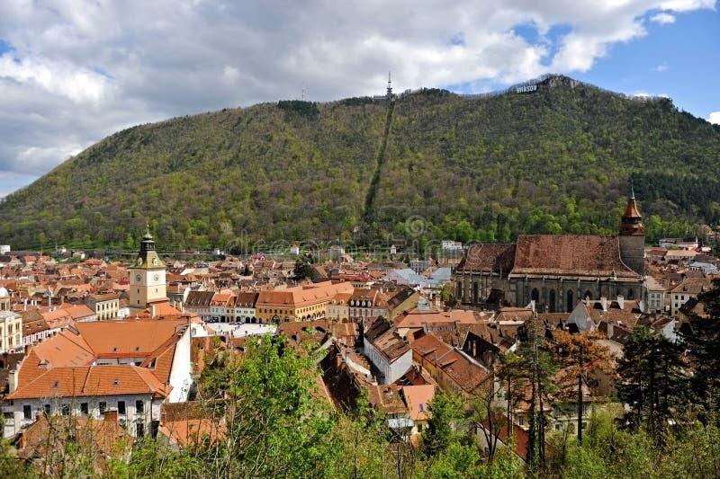 Vieille ville de Brasov photographie stock