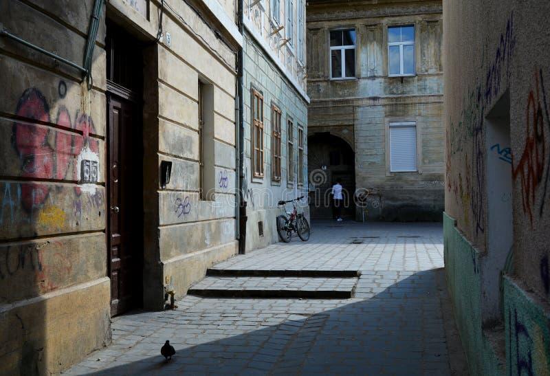 Vieille ville de Brasov, la Roumanie images stock