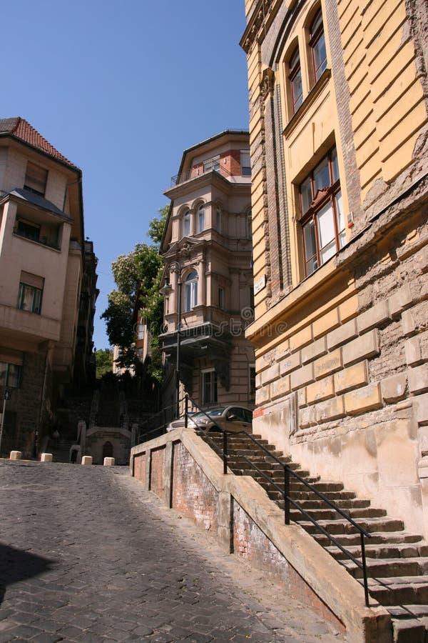 Vieille ville de Budapest photos libres de droits