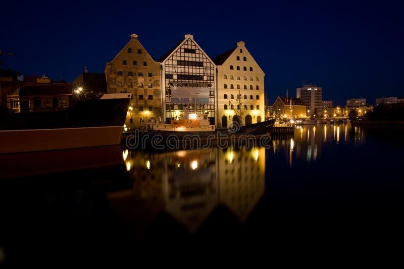 vieille ville de Danzig photo stock