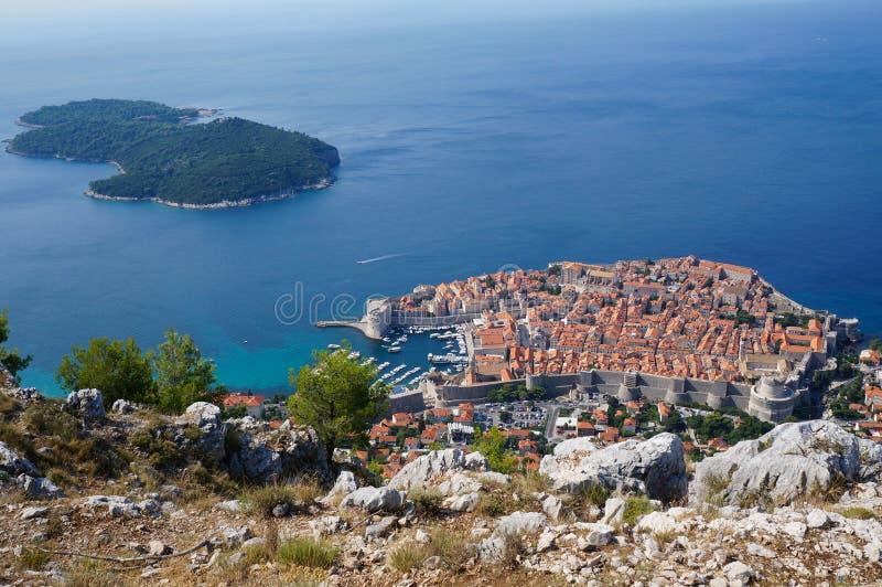 Vieille ville de Dubrovnik photo libre de droits