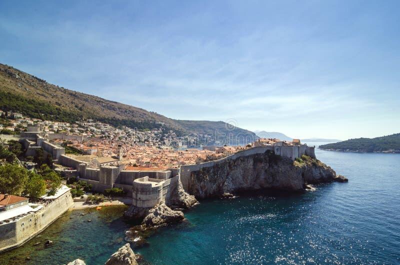 Vieille ville de Dubrovnik photographie stock