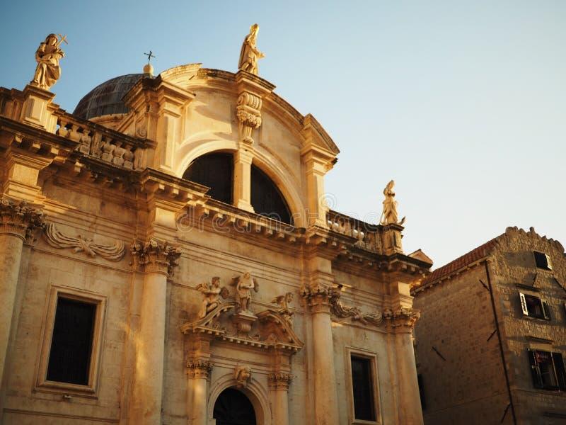 Vieille ville de Dubrovnik images libres de droits