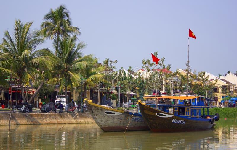 Vieille ville de Hoi photos libres de droits