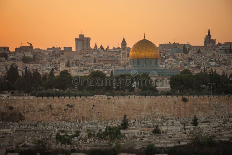 Vieille ville de Jérusalem photos stock