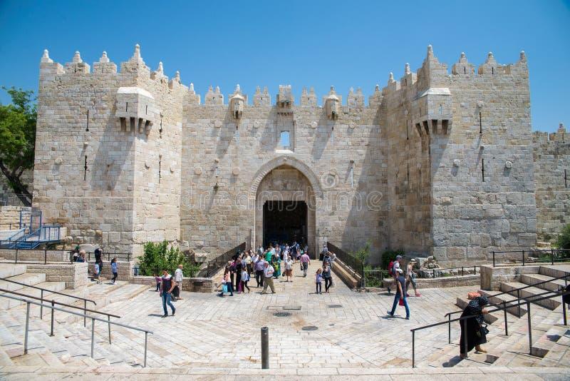Vieille ville de Jérusalem image stock