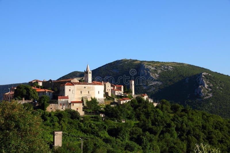 Vieille ville de la Croatie photo libre de droits