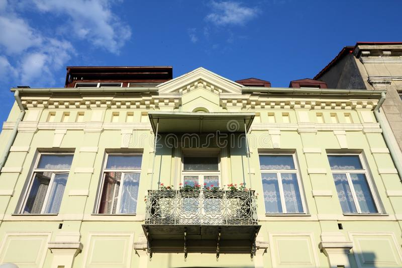 Vieille ville de la Pologne - Konin images stock