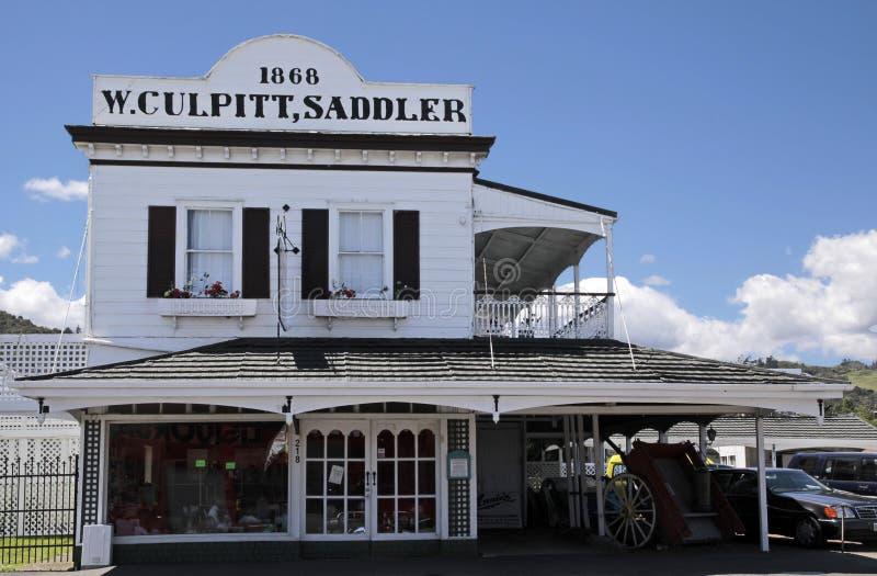 Vieille ville de la Tamise en Nouvelle Zélande image stock
