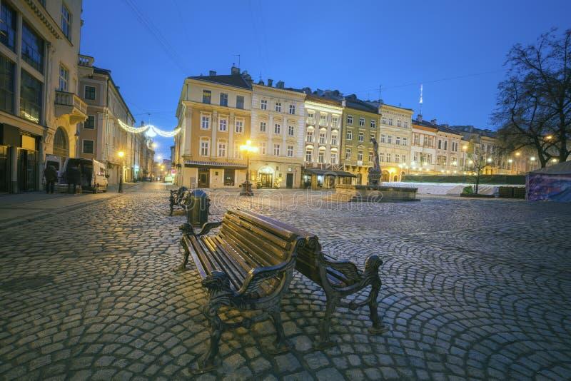 Vieille ville de Lviv photo stock