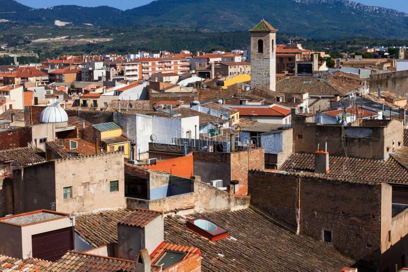 Vieille ville de Montblanc, Espagne photographie stock