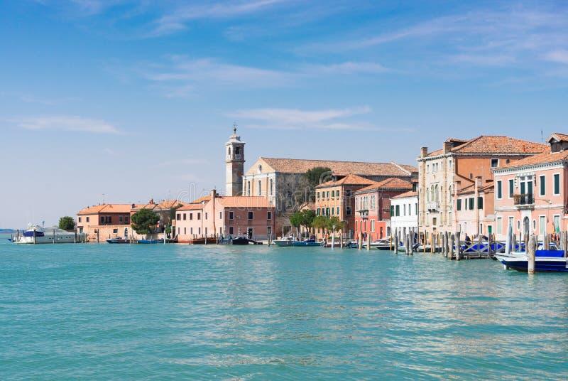 Vieille ville de Murano, Italie image libre de droits