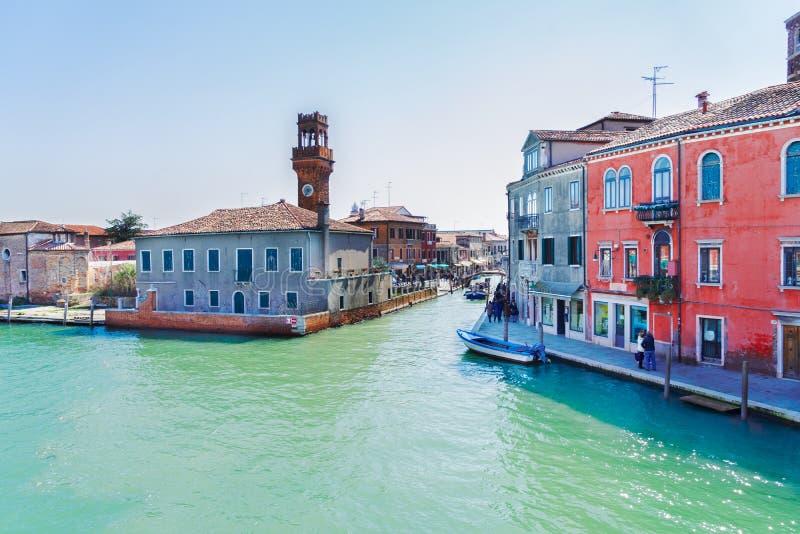 Vieille ville de Murano, Italie photo libre de droits