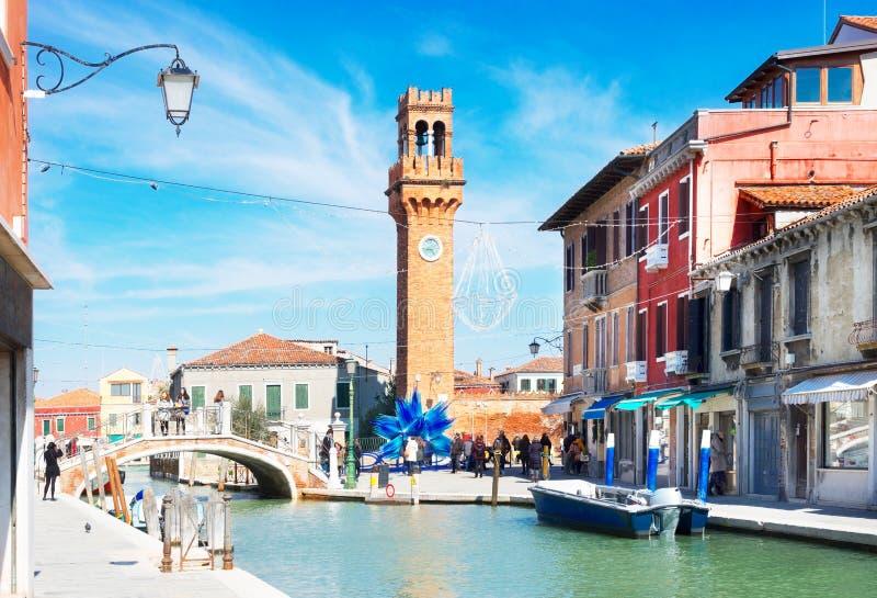 Vieille ville de Murano, Italie photographie stock libre de droits