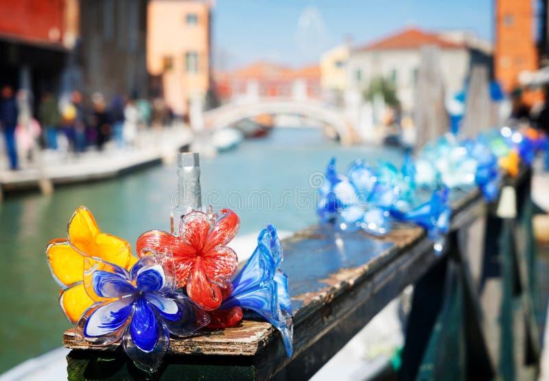 Vieille ville de Murano, Italie images libres de droits