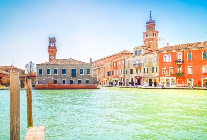 Vieille ville de Murano, Italie photographie stock