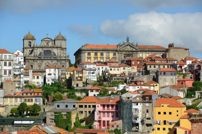 Vieille ville de porto portugal photo stock image du for Piscine a porto portugal