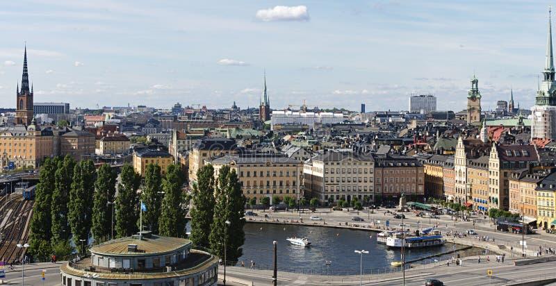 Vieille ville de Stockholm (Gamla stan), Suède photographie stock