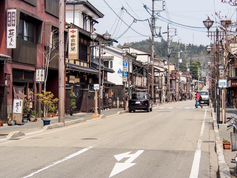 Vieille ville de Takayama, Japon 1 photographie stock libre de droits