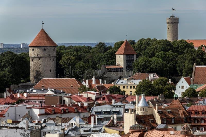 Vieille ville de Tallinn image stock