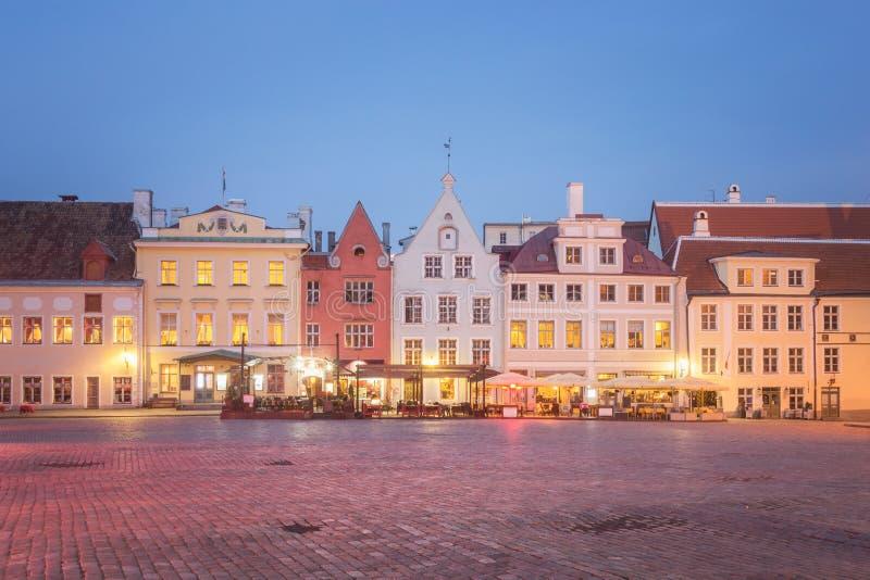 Vieille ville de Tallinn, Estland photos libres de droits