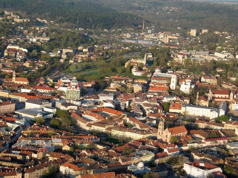 Vieille ville de Vilnius (Lithuanie) photographie stock