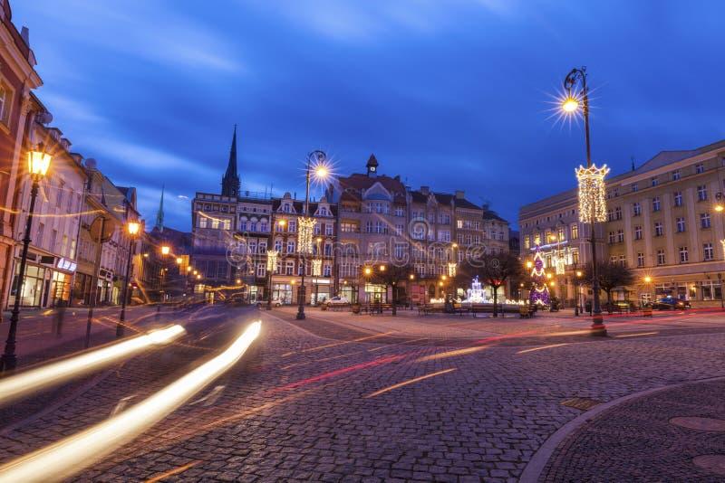 Vieille ville de Walbrzych images libres de droits