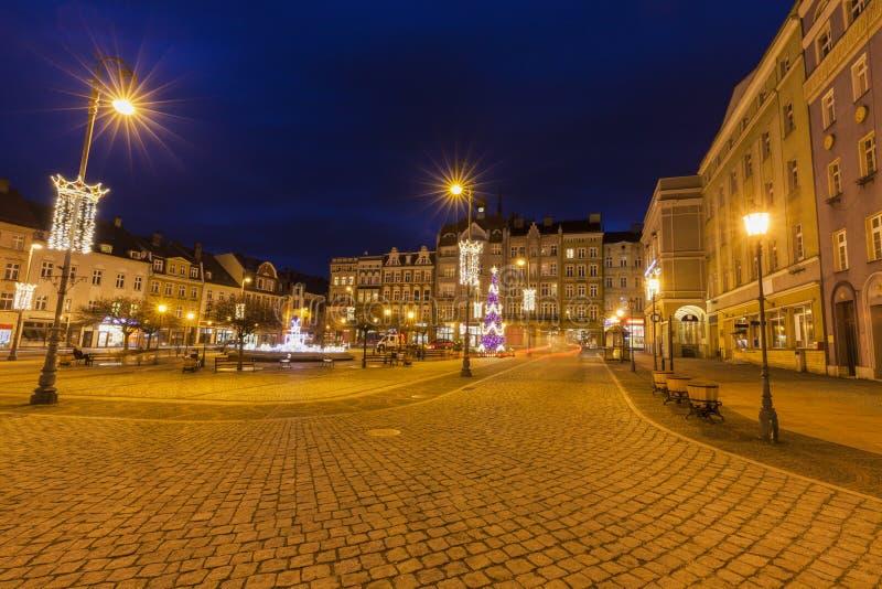 Vieille ville de Walbrzych photos libres de droits