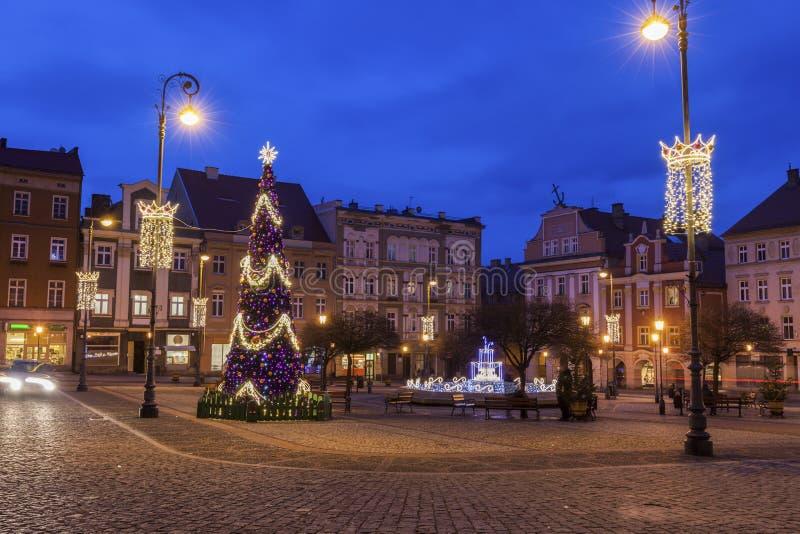 Vieille ville de Walbrzych photos stock
