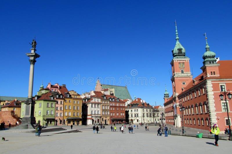 Vieille ville de Warsawa photographie stock