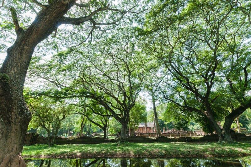 Vieille ville des points de repère d'endroit de culte, parc d'histoire images libres de droits