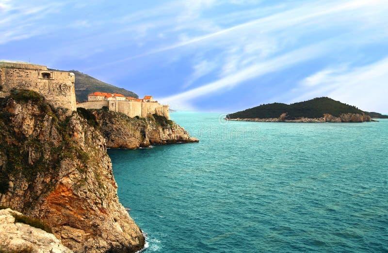 Vieille ville Dubrovnik, Croatie photo stock