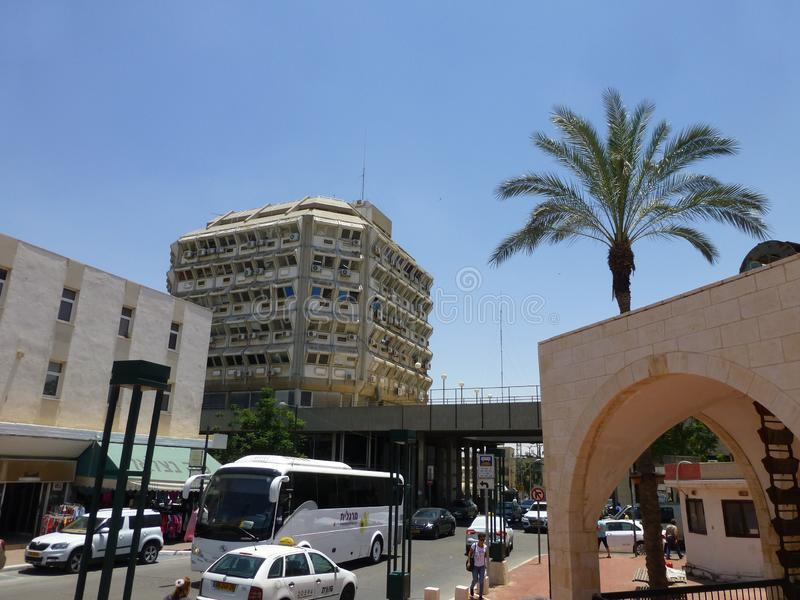 Vieille ville en bière Sheva en Israël photographie stock libre de droits