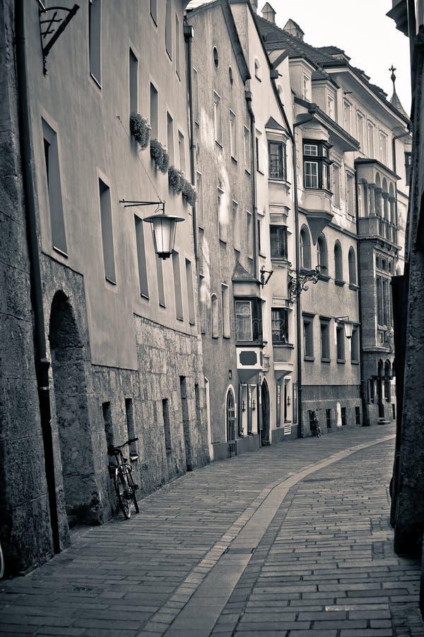 Vieille ville européenne image libre de droits
