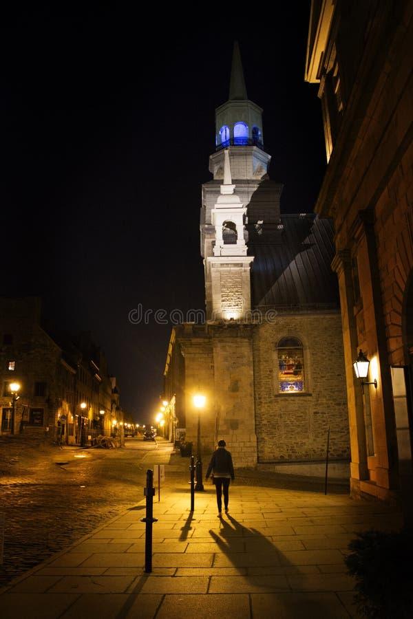 Vieille ville Montréal images libres de droits