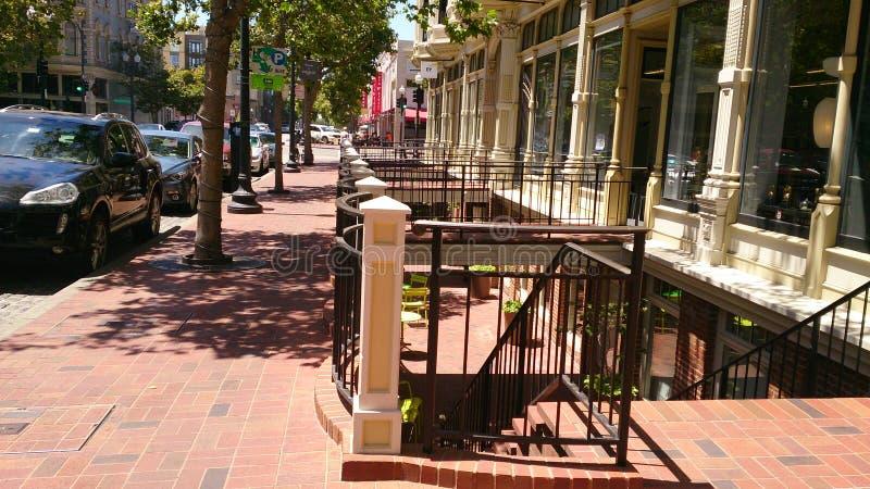 Vieille ville Oakland, la Californie image libre de droits