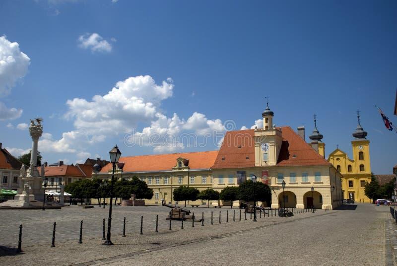 Vieille ville, Osijek, Croatie photos libres de droits
