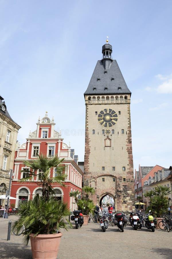Vieille ville pittoresque de Speyer photos stock