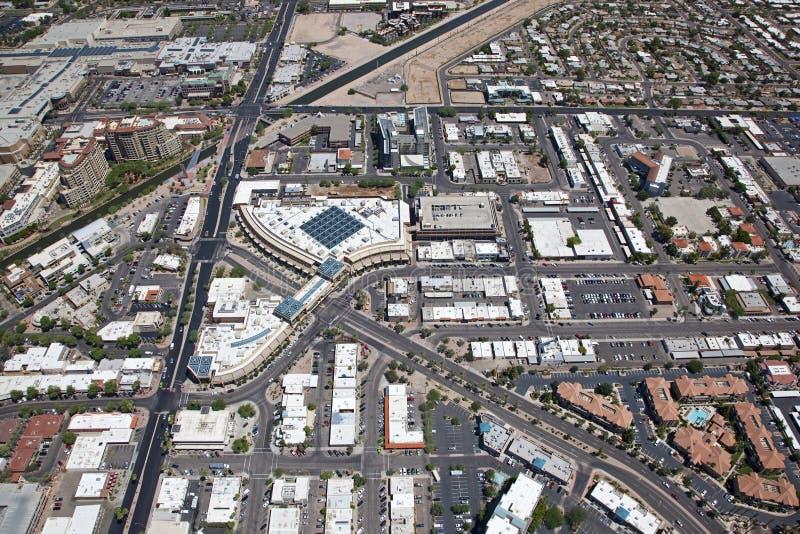 Vieille ville Scottsdale image libre de droits
