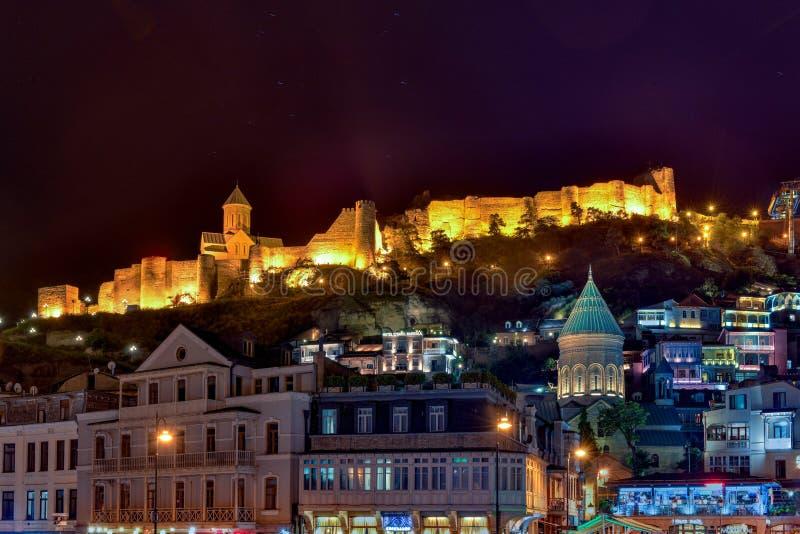 Vieille ville Tbilisi - Géorgie photos stock