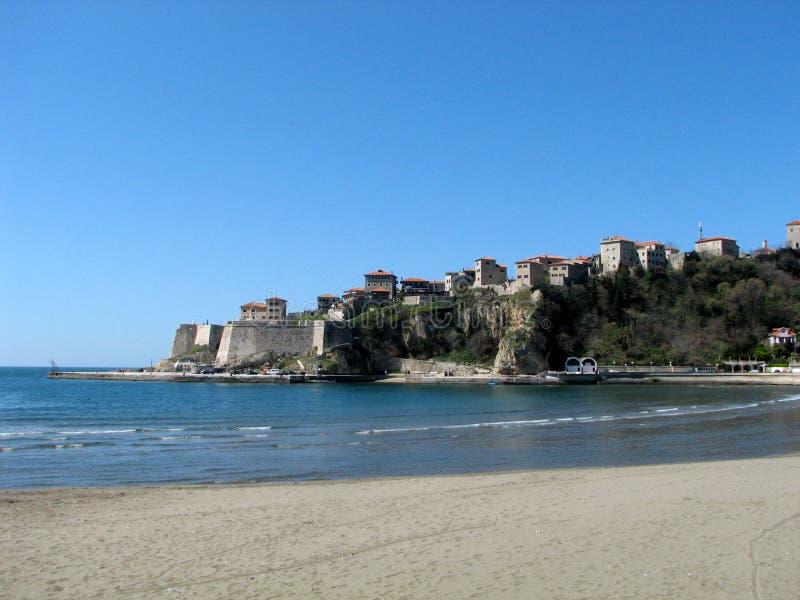 Vieille ville Ulcinj - Monténégro photos libres de droits