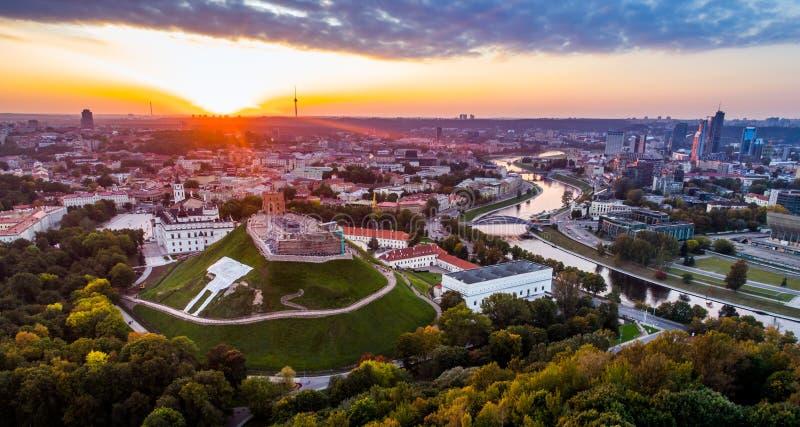 Vieille ville Vilnius de l'Europe photographie stock