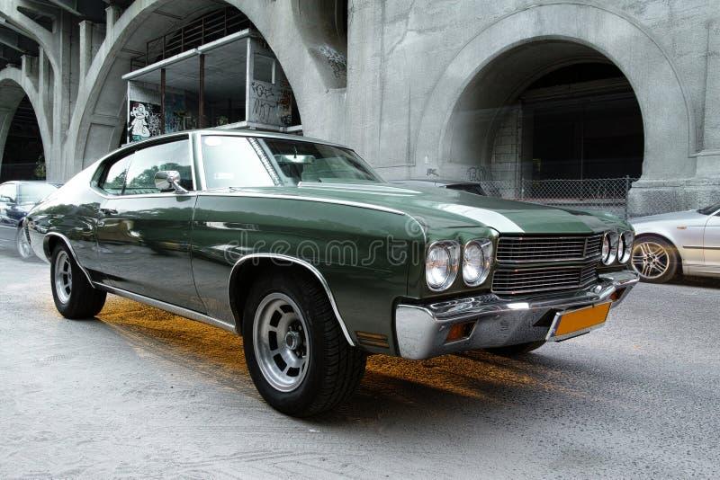 Vieille Voiture De Chevrolet Photos libres de droits