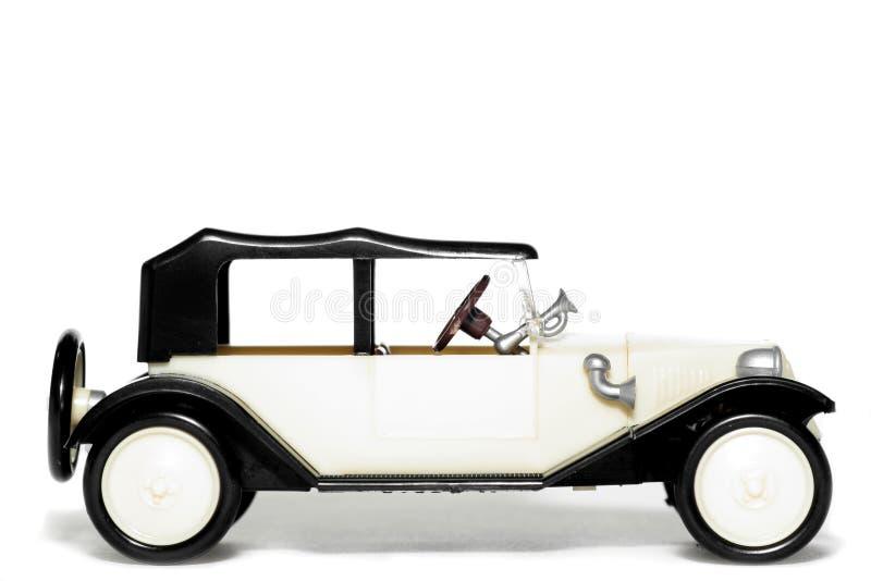 Vieille voiture Tatra 11 Faeton de jouet image libre de droits