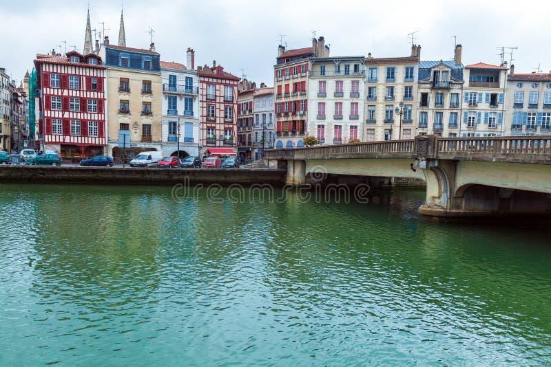 Vieilles constructions de bayonne image stock image du - Chambre du commerce bayonne ...