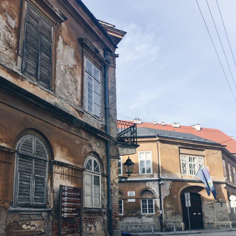 Vieilles constructions photo libre de droits